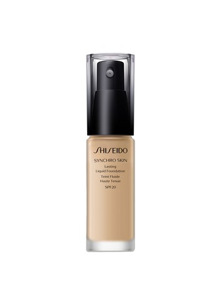 Shiseido - Synchro Skin Lasting Liquid Foundation SPF20 - Golden 3