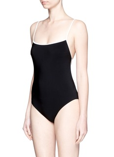 ARAKS 'Kenley' cutout grid back swimsuit