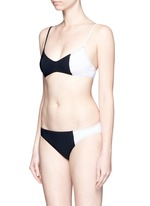 'Elsa' colourblock bikini set