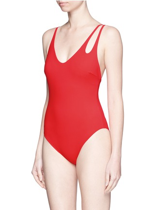 Araks - 'Jamie' double keyhole strap one-piece swimsuit