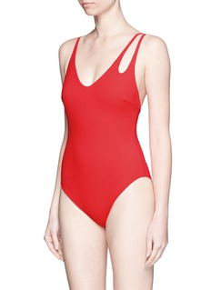ARAKS 'Jamie' double keyhole strap one-piece swimsuit