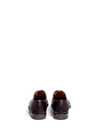 背面 - 点击放大 - MAGNANNI - MARRON真皮系带鞋