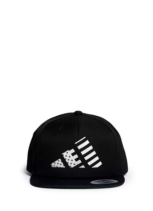 Main View - Click To Enlarge - LPD - x adidas 'Mountain Flag' snapback cap