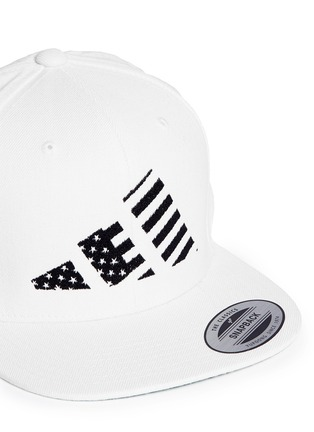 Detail View - Click To Enlarge - LPD - x adidas 'Mountain Flag' snapback cap