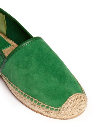 Detail View - Click To Enlarge - Tory Burch - 'McKenzie' suede espadrilles