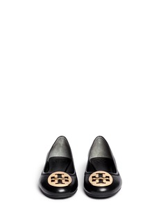TORY BURCH 'Reva' leather ballet flats