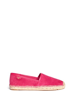 Main View - Click To Enlarge - Tory Burch - 'McKenzie' suede espadrilles