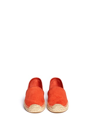 Figure View - Click To Enlarge - Tory Burch - 'McKenzie' suede espadrilles