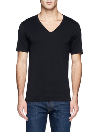 Main View - Click To Enlarge - Zimmerli - '172 Pure Comfort' jersey undershirt