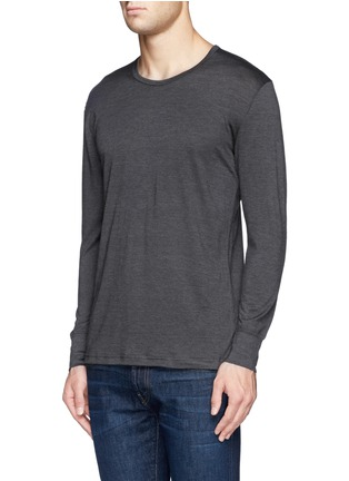 Front View - Click To Enlarge - Zimmerli - '710 Wool & Silk' undershirt