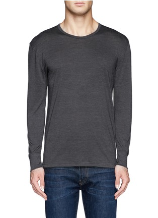 Main View - Click To Enlarge - Zimmerli - '710 Wool & Silk' undershirt