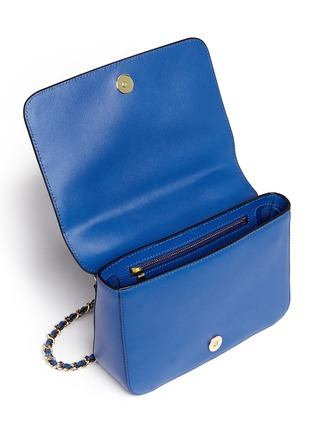 Detail View - Click To Enlarge - Tory Burch - 'Robinson' adjustable chain shoulder bag