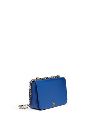 Front View - Click To Enlarge - Tory Burch - 'Robinson' adjustable chain shoulder bag