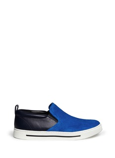 MARC BY MARC JACOBSSuede leather skate slip-ons