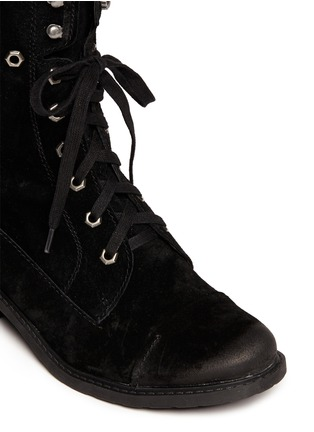 Detail View - Click To Enlarge - Sam Edelman - 'Darwin' suede lace up boots