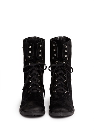 Figure View - Click To Enlarge - Sam Edelman - 'Darwin' suede lace up boots