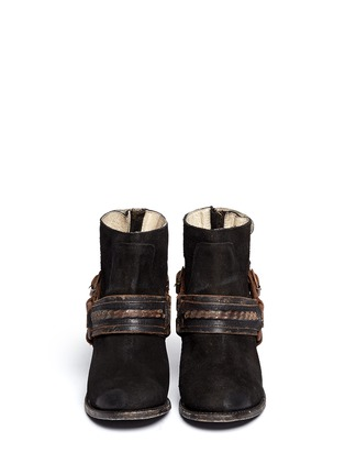 Figure View - Click To Enlarge - FREEBIRD - 'El Paso' ankle harness suede boots