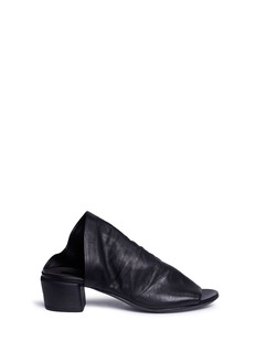 Marsèll 'Bo Sandalo' asymmetric leather mules