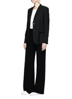 Theory 'Terena' wide leg crepe pants