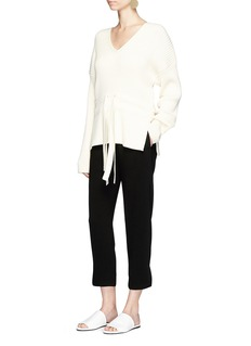 Theory 'Thorina' cropped crepe pants