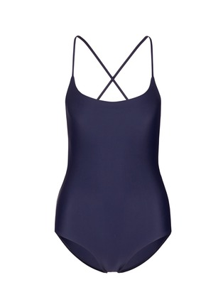 Main View - Click To Enlarge - Matteau Swim - 'The Cross Back' one-piece swimsuit