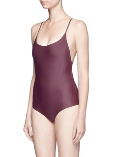 Matteau Swim 'The Cross Back' one-piece swimsuit