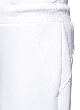 Detail View - Click To Enlarge - Ivy Park - Chenille logo fleece cotton blend sweatpants