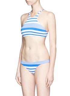 Vitamin A'Rosie' stripe bikini bottoms