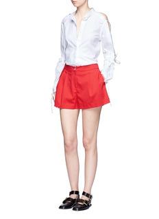 3.1 PHILLIP LIM斜纹布短裤