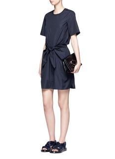 3.1 Phillip LimKnot front cutout back cotton dress