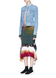 Acne Studios 'Saleh' watercolour print georgette dress