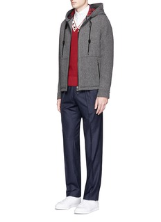 Maison KitsunéWool flannel pants