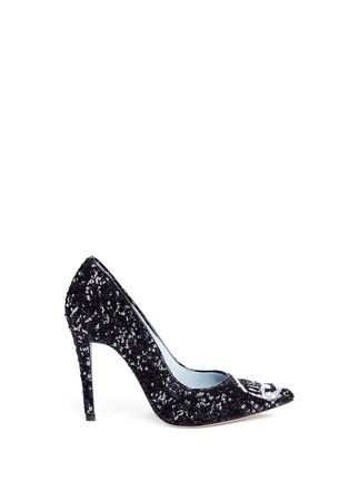 Main View - Click To Enlarge - Chiara Ferragni - 'Flirting' eye wink sequin pumps