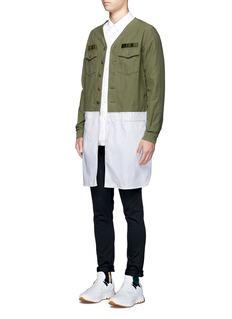 JohnundercoverDenim patchwork pants