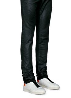Ash'Smart' neoprene sock leather sneakers