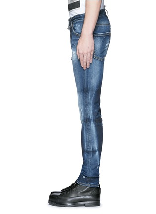Detail View - Click To Enlarge - Dsquared2 - 'Cool Guy' distressed slim fit jeans
