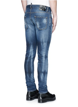Back View - Click To Enlarge - Dsquared2 - 'Cool Guy' distressed slim fit jeans