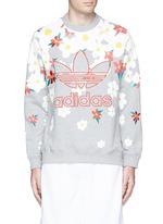 'Daisy' logo embroidered sweatshirt