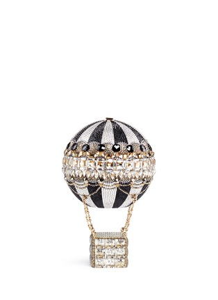 Back View - Click To Enlarge - Judith Leiber - 'Hot Air Balloon' crystal pavé minaudière