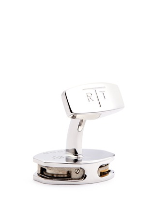 Detail View - Click To Enlarge - Tateossian - 'Skeleton Movement' tonneau limited edition cufflinks
