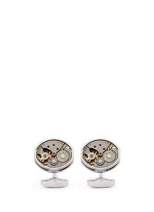 Main View - Click To Enlarge - Tateossian - 'Skeleton Movement' tonneau limited edition cufflinks