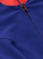 'Farah' neoprene zip swimsuit
