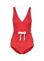 'Yasmin' drawstring waist pucker swimsuit
