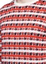 Detail View - Click To Enlarge - Maison Kitsuné - Pixelated stripe jacquard sweater