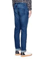 'M5' selvedge denim slim fit jeans
