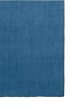 细节 - 点击放大 - JANAVI - 镂空车缝线拼色围巾