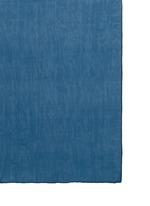 镂空车缝线拼色围巾