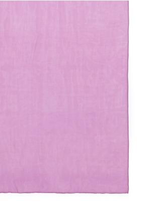 JANAVI-镂空车缝线拼色围巾