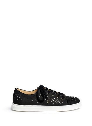首图 - 点击放大 - CHARLOTTE OLYMPIA - BEJEWELLED仿水晶亚麻球鞋