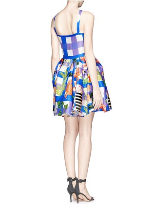 Back View - Click To Enlarge - Chictopia - Seafood plaid check dress
